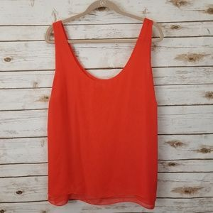 ⬇️⬇️ Old Navy PLUS XXL Red Double Layer Tank